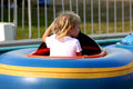 Free Young Girl In Bumper Boat Stock Photos - 531073