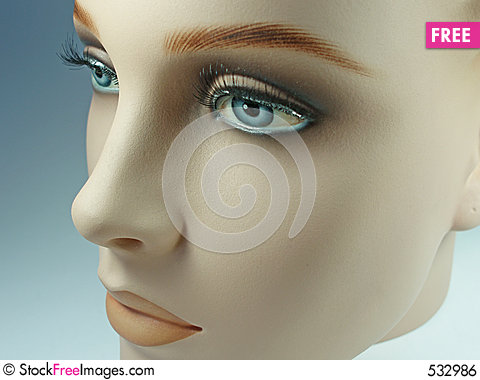 Free Doll´s Face Royalty Free Stock Image - 532986
