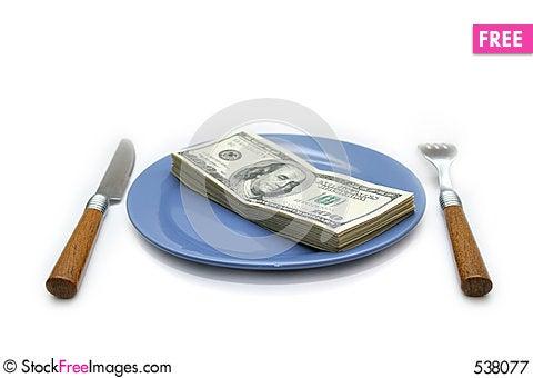 Free Money 3 Royalty Free Stock Photography - 538077