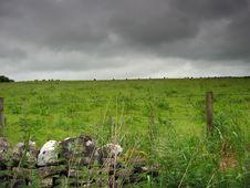 Free Irish Field Royalty Free Stock Image - 531196