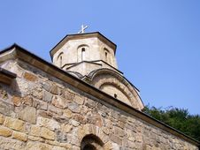 Free Monastery Roof Stock Photography - 532122