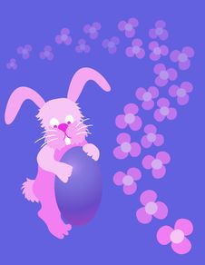Free Easter Bunny Royalty Free Stock Photography - 532607