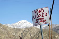 Free Road Closed Stock Photography - 532922