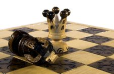 Free Checkmate Royalty Free Stock Image - 532926