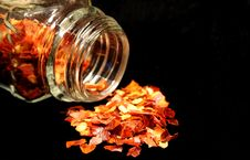 Crushed Red Pepper Stock Images