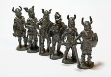 Free Miniature Warriors Royalty Free Stock Image - 534206