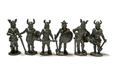Free Miniature Warriors Stock Image - 534211