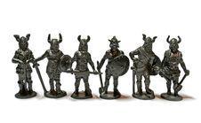 Miniature Warriors Stock Image