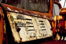 Free Rusty Junkyard Truck Royalty Free Stock Image - 534336