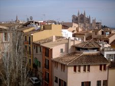Free Palma Cathedral Royalty Free Stock Photography - 535047