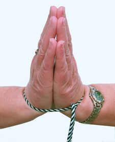 Free My Hands Are Tied Royalty Free Stock Images - 535149