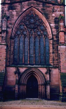Free Medievel Church Window Stock Images - 535684