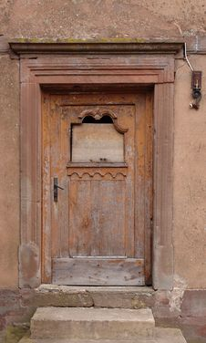 Free Boarded-Up Door Stock Image - 535691