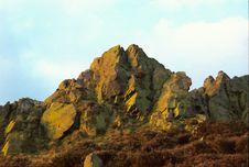 Free Rocks At Sunset Stock Image - 535811