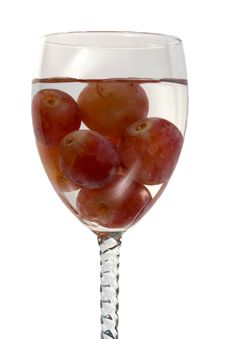 Free Water And Grapes Stock Images - 536014