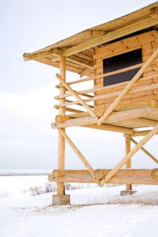 Free Guard Tower IV Royalty Free Stock Photo - 537415