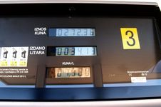Free Gas Price Royalty Free Stock Photos - 537448