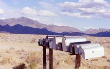 Free Mountain Mailboxes Stock Photo - 538310