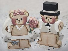 Free Wedding Bears Stock Images - 538324