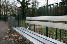 Free Bench & Bin Royalty Free Stock Photography - 538367