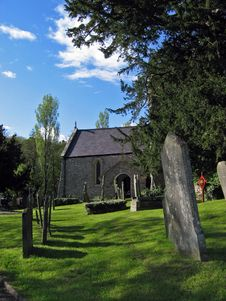 Free Old Church Graveyard Stock Photos - 538453