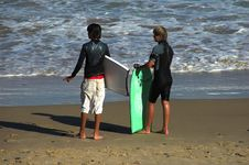 Free Two Body Boarders Stock Photography - 538592