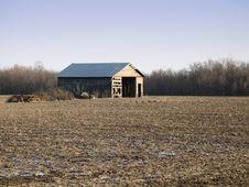 Free Ohio Barn Royalty Free Stock Photography - 538657