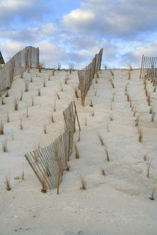 Free Dune Fence Stock Image - 538781