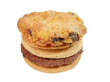 Free Biscuits-clipping Path Stock Image - 539151