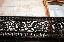 Free Decorative Rails Royalty Free Stock Photos - 539518