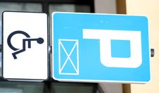 Handicapped Parking Sign Royalty Free Stock Images