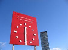 Free Work Clock Stock Photos - 539903