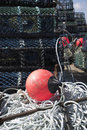 Free Lobster Pots Stock Photography - 5300882