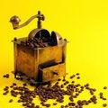 Free Antiquity Coffee Machine Royalty Free Stock Photo - 5301035