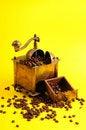 Free Antiquity Coffee Machine Stock Image - 5301051