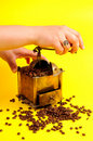 Free Antiquity Coffee Machine Royalty Free Stock Photo - 5301085