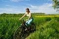 Free Girl Biking Royalty Free Stock Photo - 5302985