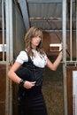 Free Woman On Farm Stock Photos - 5303863