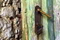 Free Door Lock Royalty Free Stock Image - 5304456