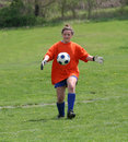 Free Teen Youth Soccer Goalie Action 2 Royalty Free Stock Images - 5307389