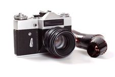 Free Old Analog Camera Royalty Free Stock Image - 5300066