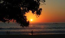 Free Sunset At Camps Bay Royalty Free Stock Photo - 5300125
