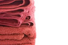 Free Bath Towels Stock Images - 5300444
