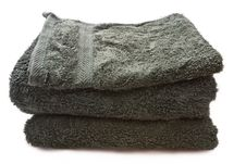 Free Bath Towels Royalty Free Stock Photography - 5300637