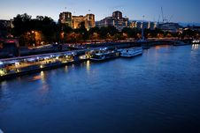Free River Thames Buildings - 5 Stock Image - 5301031