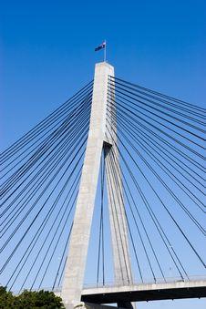 Free Bridge Pylon Royalty Free Stock Photo - 5301345