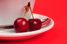 Free Cherry Royalty Free Stock Images - 5301639