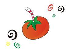Crazy Tomato Juice Stock Photos