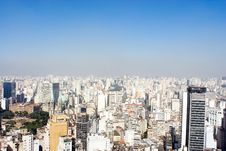 City View With Blue Sky Stock Photos