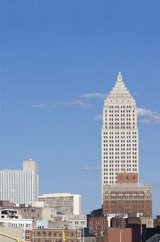 Free Downtown Buildings Royalty Free Stock Image - 5302166